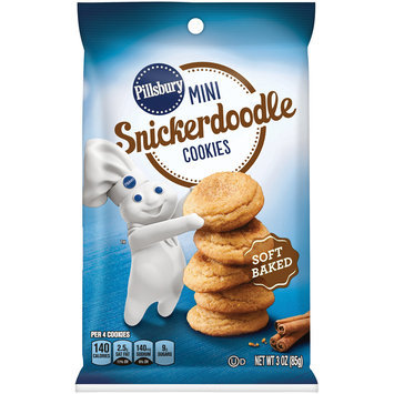 Pillsbury Mini Snickerdoodle Cookies 3 oz. Bag