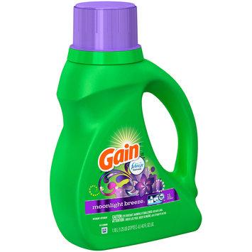 Gain® with Febreze™ Moonlight Breeze™ Liquid Laundry Detergent 40 fl. oz. Plastic Jug