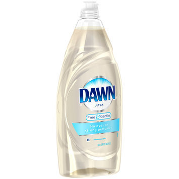 Dawn® Ultra Free & Gentle Dishwashing Liquid 34.2 fl. oz. Bottle