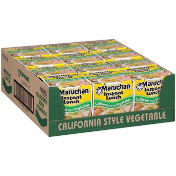 Maruchan® Instant Lunch™ California Vegetable Ramen Noodle Soup 1 Cups
