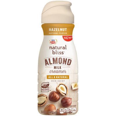 Nestle Coffeemate Natural Bliss Almond Milk Hazelnut Liquid Coffee Creamer 16 fl oz Bottle