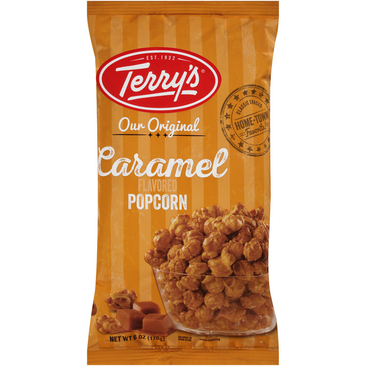 terry's® our original caramel flavored popcorn