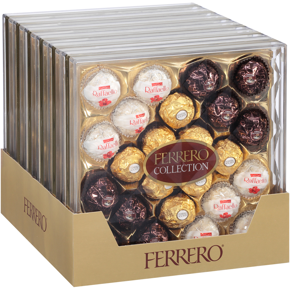 Ferrero Collection Fine Assorted Confections 9.1 oz. Tray