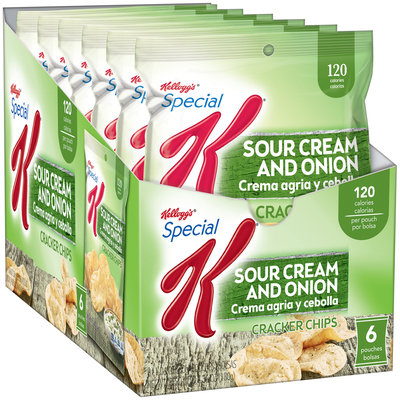 Special K® Kellogg's Sour Cream and Onion Cracker Chips