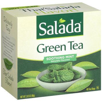 Salada® Soothing Mint Green Tea Bags 2.82 oz. Box