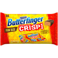 BUTTERFINGER Fun Size Crisp Candy Bars 6 Pack Tray