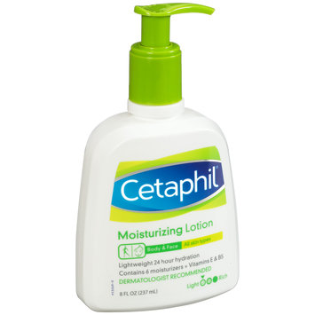 Cetaphil® Body & Face Moisturizing Lotion 8 fl. oz. Pump