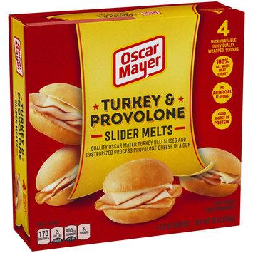 Oscar Mayer Turkey & Provolone Slider Melts 4 ct Box