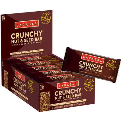Larabar® Dark Chocolate Almond Crunchy Nut & Seed Bars 15 ct Box
