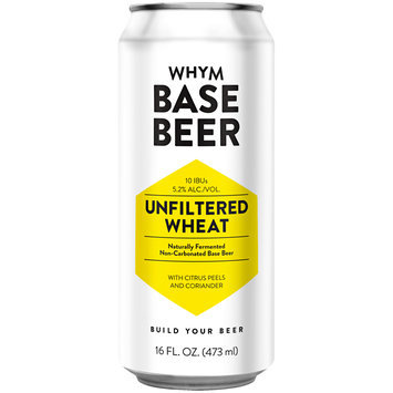 Whym Unfiltered Wheat Base Beer 16 fl. oz. Can