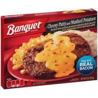 Banquet® Cheesy Patty and Mashed Potatoes 9 oz. Box