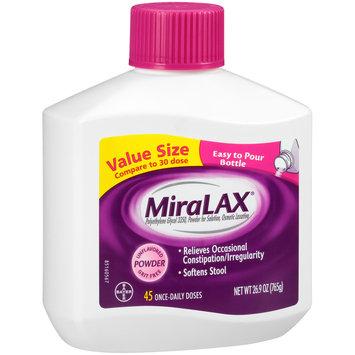 MiraLAX® Powder Laxative 26.9 oz. Bottle