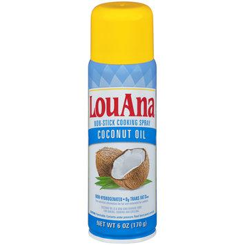 LouAna® Coconut Oil Non-Stick Cooking Spray 6 oz. Aerosol Can