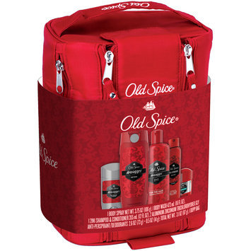 Mixed Old Spice Swagger Holiday Dopp Kit