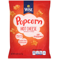 Wise® Hot Cheese Air Popped Popcorn 0.63 oz. Bag