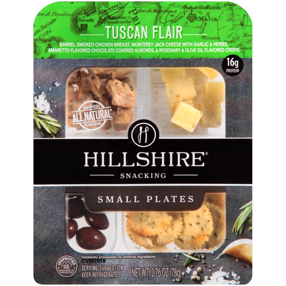Hillshire® Snacking Tuscan Flair Small Plates 2.76 oz. Tray