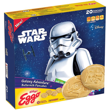 Kellogg's® Eggo® Galaxy Adventure™ Buttermilk Pancakes 20 ct Box