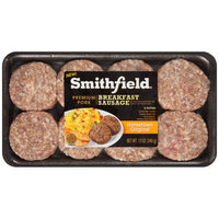 Smithfield® Hometown Original Pork Breakfast Sausage Patties 12 oz. Tray