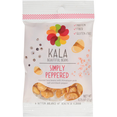 Kala Beautiful Beans Simply Peppered 0.75 oz. Pouch