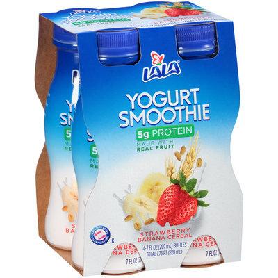 LALA® Strawberry Banana Cereal Yogurt Smoothie