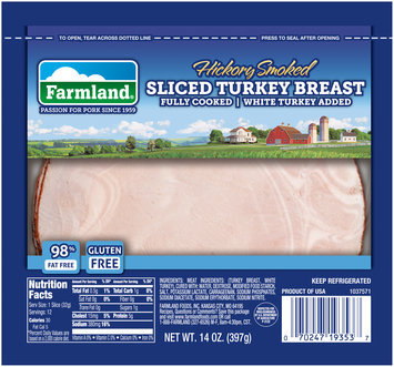 Farmland® Hickory Smoked Sliced Turkey Breast
