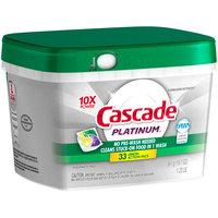 Cascade® Platinum™ Action Pacs Lemon Dishwasher Detergent 33 ct Tub