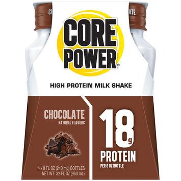 Core Power® Chocolate High Protein Milk Shake 4-8 fl. oz. Bottles