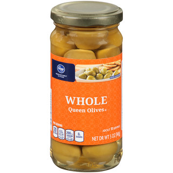 Kroger® Whole Queen Olives 5 oz. Jar