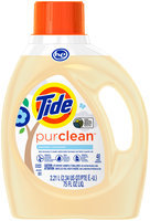 Tide® PurClean Unscented Liquid Laundry Detergent 48 Load 75 fl. oz. Bottle