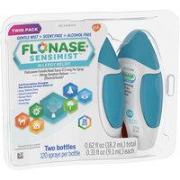 Flonase Sensimist Allergy Relief Gentle Mist Scent-Free Nasal Spray - 240 sprays Twinpack