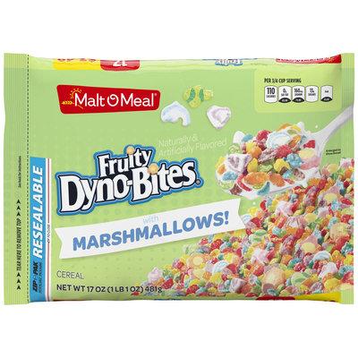 Malt-O-Meal® Fruity Dyno-Bites® with Marshmallows Cereal 17 oz. Bag