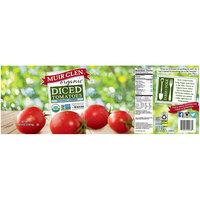 Muir Glen® Organic No Salt Added Diced Tomatoes 102 oz. Can