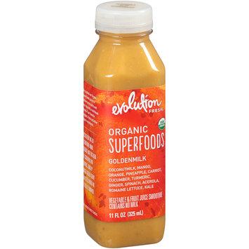 Evolution Fresh™ Organic Superfoods Goldenmilk Vegetable & Fruit Juice Smoothie 11 fl. oz. Plastic Bottle