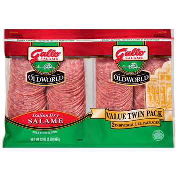 Gallo® Old World Italian Dry Salame Value Twin Pack 2-1 lb. Pack