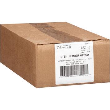 Kretschmar® Natural Sharp Cheddar Cheese 2.5 lb. Pack