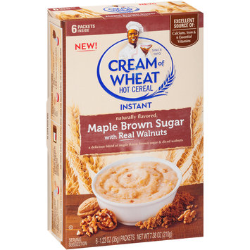 Cream of Wheat™ Maple Brown Sugar Instant Hot Cereal 6-1.23 oz. Packets