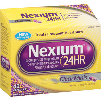Nexium® 24-Hour Delayed-Release Heartburn Relief Clear Minis™ Capsules 42 ct Box