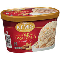 Kemps: Ice Cream Old Fashioned Maple Nut, 1.5 Qt