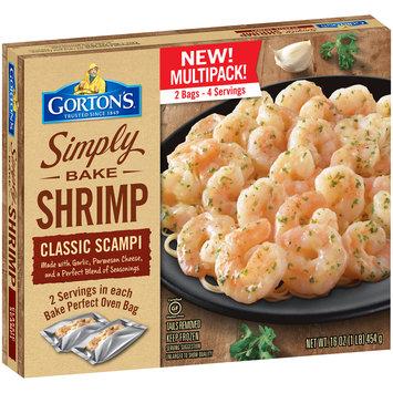 Gorton's® Simply Bake Classic Scampi Shrimp 16 oz. Box