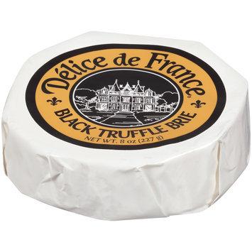 Delice de France® Black Truffle Brie 8 oz. Pack