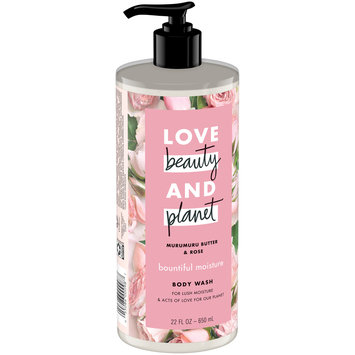 Love Beauty And  Planet Bountiful Moisture Murumuru Butter & Rose Body Wash