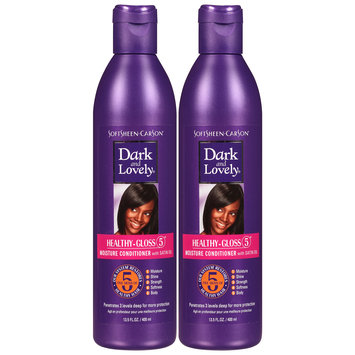 Dark and Lovely® Healthy-Gloss 5® with Satin Oil Moisture Conditioner 2-13.5 fl. oz. Bottles