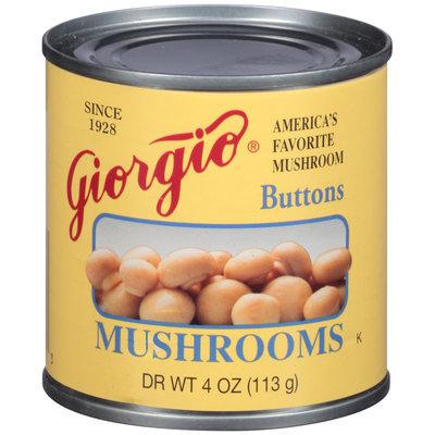 Giorgio® Buttons Mushrooms 4 oz. Can