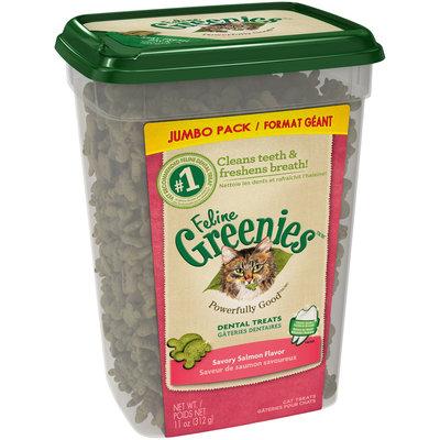 Feline Greenies™/MC Savory Salmon Flavor Cat Dental Treats 11 oz. Tub