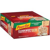 PowerBar® Clean Whey Vanilla Coconut Crunch Flavored Protein Bar 16-2.12 oz. Wrappers