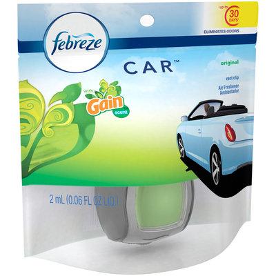Febreze CAR™ Original with Gain™ Scent Vent Clip Air Freshener .06 fl. oz. Pack
