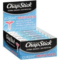 ChapStick® Classic Medicated Lip Balm 12-.15 oz. Tray