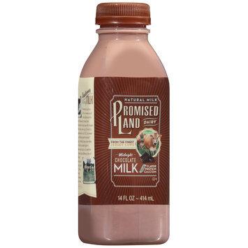 Promised Land Dairy® Midnight Chocolate Milk 14 fl. oz. Bottle