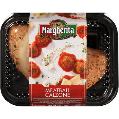 Margherita® Meatball Calzone 7 oz. Clamshell