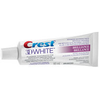 3D White Crest 3D White Brilliance Mesmerizing Mint Whitening Toothpaste, 90 mL